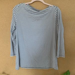 LOWBALLS ACCEPTED - OLD NAVY striped 3/4 shirt